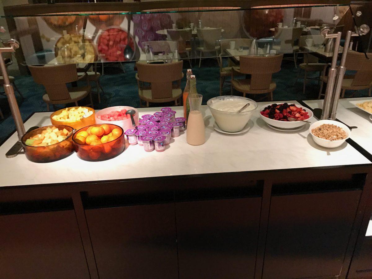 Hilton Miami Airport Frühstück Buffet 4
