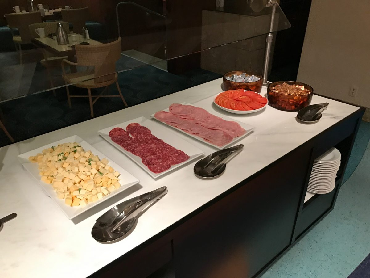 Hilton Miami Airport Frühstück Buffet 5