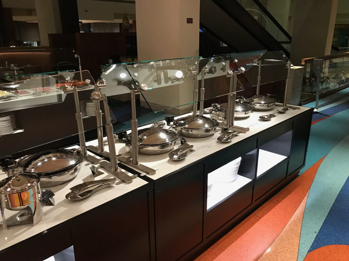 Hilton Miami Airport Frühstück Buffet 6