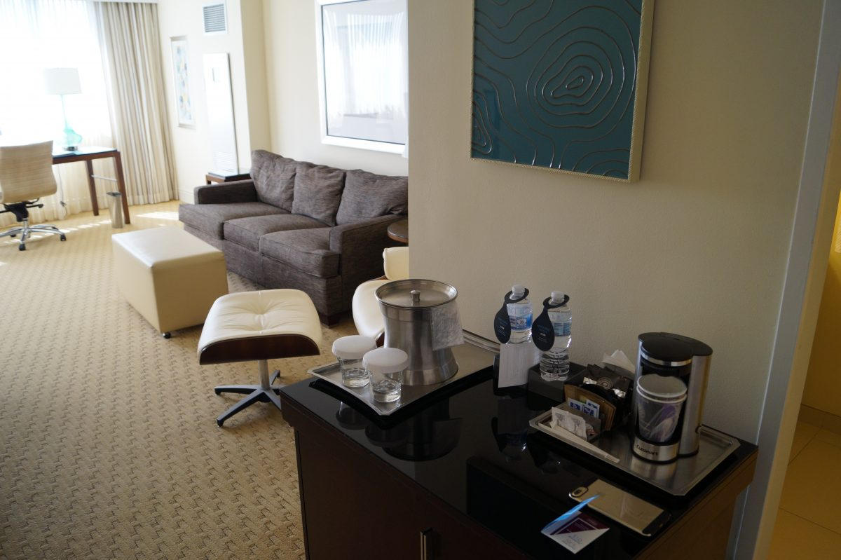 Hilton Miami Airport Junior Suite 9