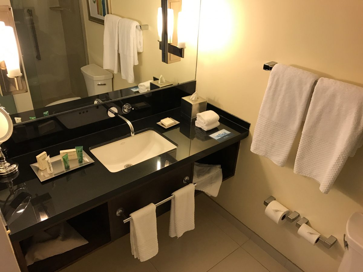 Hilton Miami Airport Junior Suite Bad