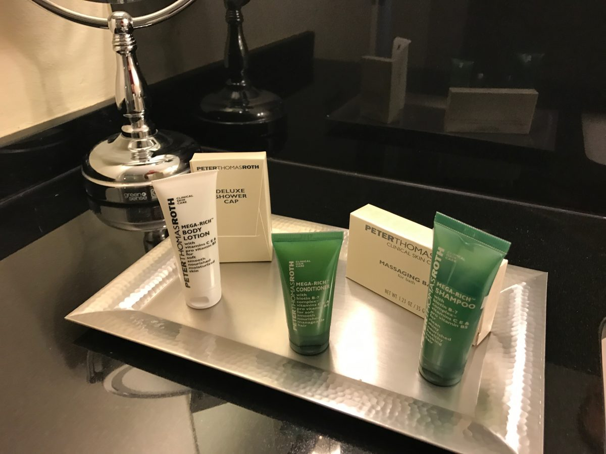 Hilton Miami Airport Junior Suite Bad Amenities