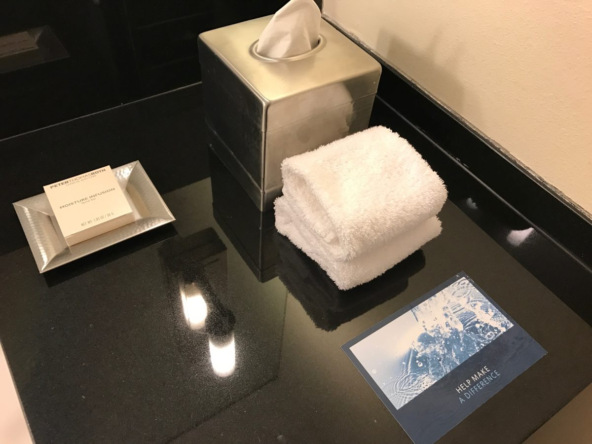 Hilton Miami Airport Junior Suite Bad Amenities 2