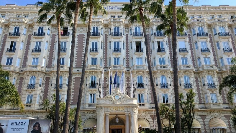 InterContinental Carlton Cannes Außen