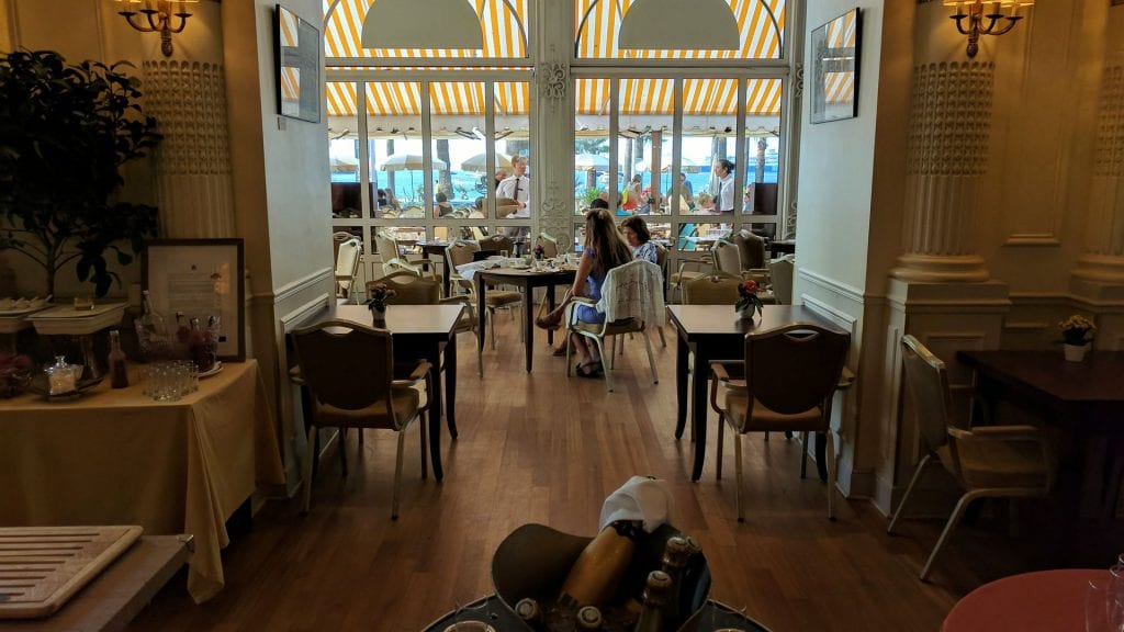 InterContinental Carlton Cannes Frühstücksraum