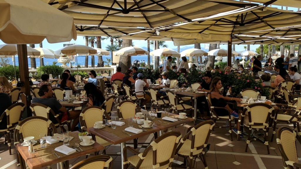 InterContinental Carlton Cannes Terrasse