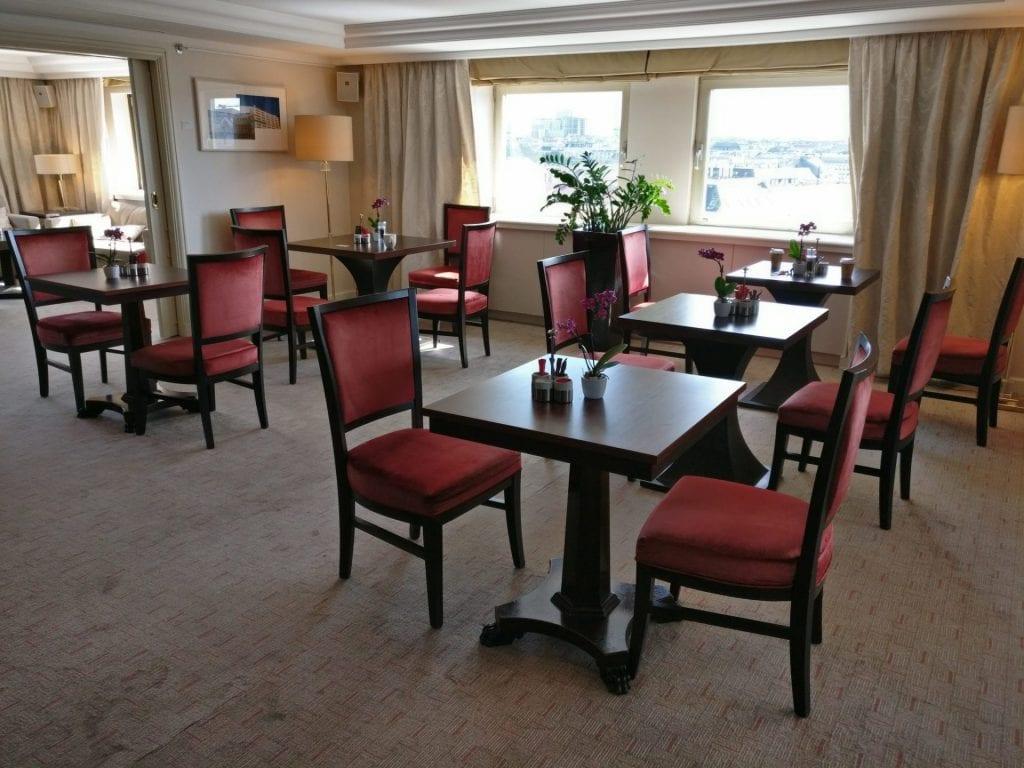 InterContinental Vienna Club Lounge