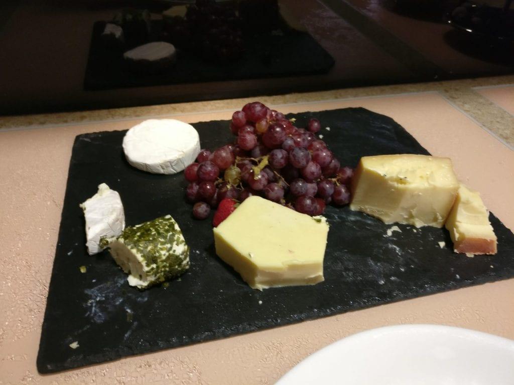 InterContinental Vienna Club Lounge Dinner 2