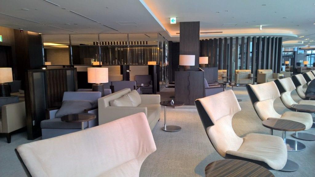 JAL First Class Lounge Tokyo Narita Satellite Seating 5