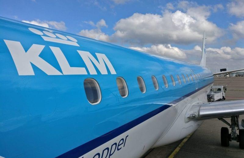KLM Embraer 190 2