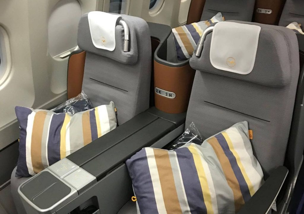 Upgrade Lufthansa Business Class