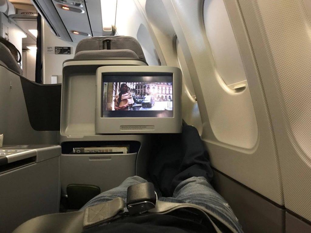 Lufthansa Business Class Sitz 6