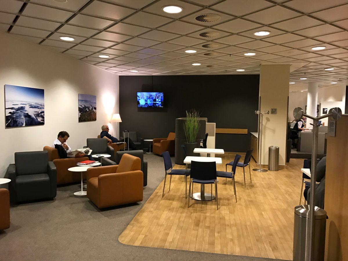 Lufthansa Business Lounge Leipzig Einrichtung 1