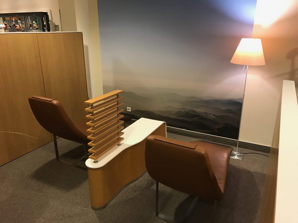 Lufthansa Business Lounge Leipzig Ruhebereich