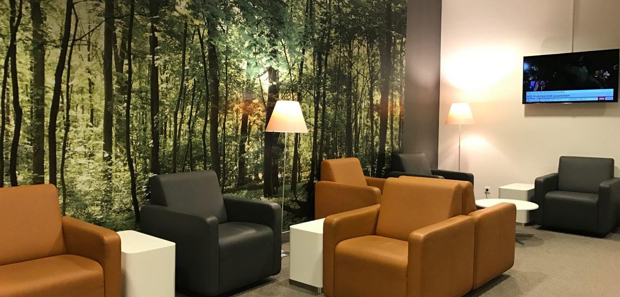 Lufthansa Business Lounge Leipzig Sitzbereich 1