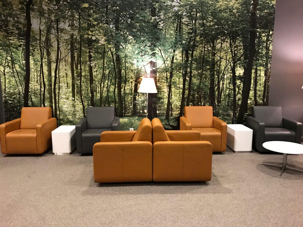 Lufthansa Business Lounge Leipzig Sitzbereich
