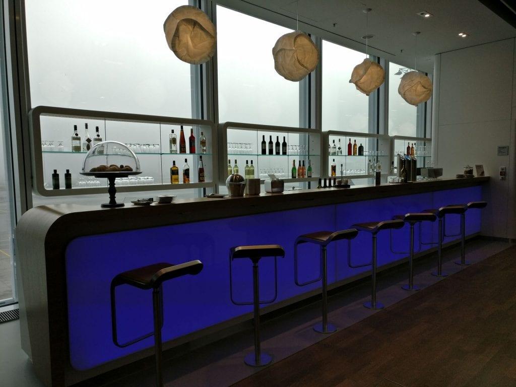 Lufthansa Business Lounge München L11 Bar