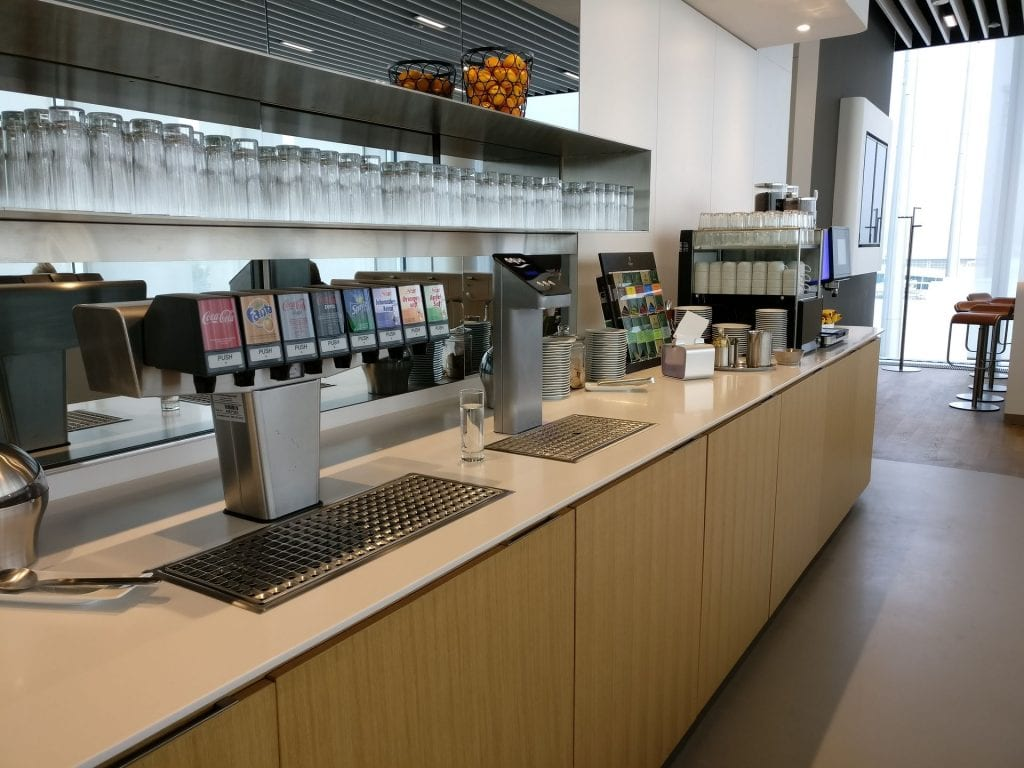 Lufthansa Business Lounge München L11 Buffet 7
