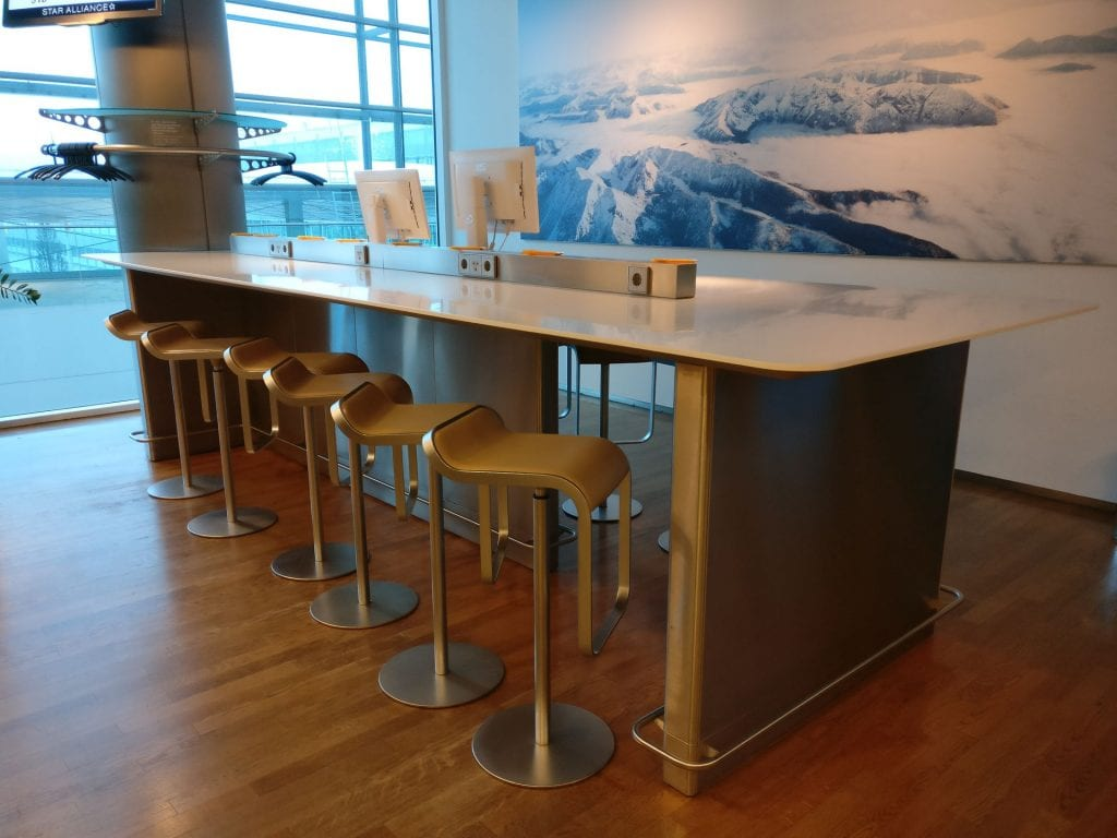 Lufthansa Business Lounge Non Schengen Munich Seating 5
