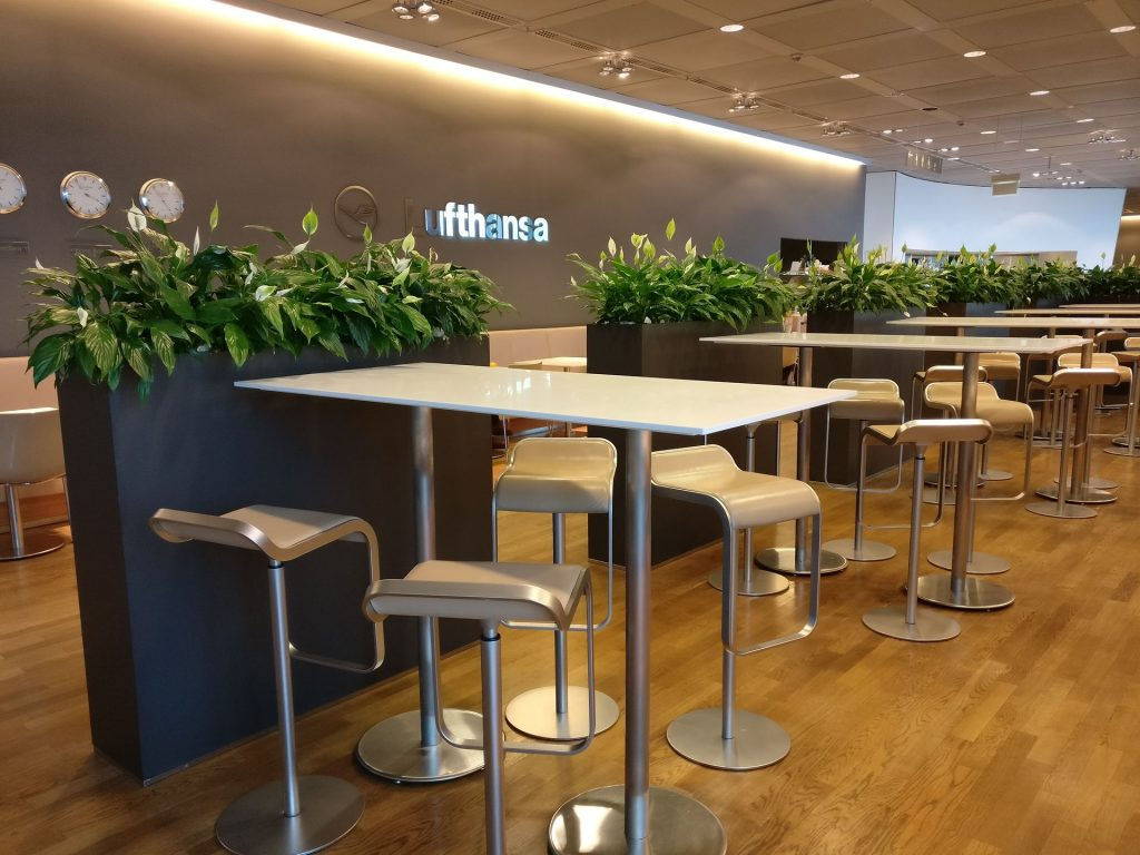 Lufthansa Business Lounge Non Schengen Munich Seating 7