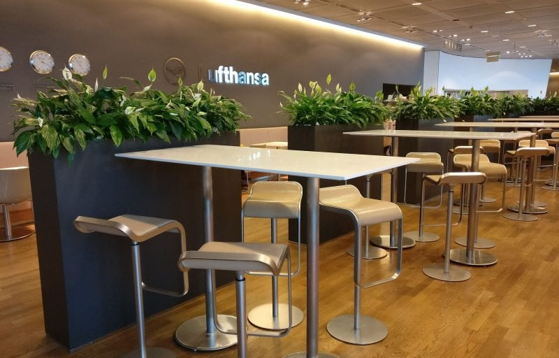 Lufthansa Business Lounge Non Schengen Munich Seating 7