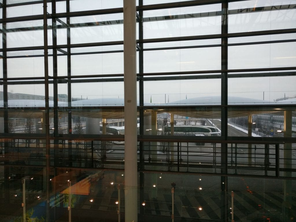 Lufthansa Business Lounge Non Schengen Munich View