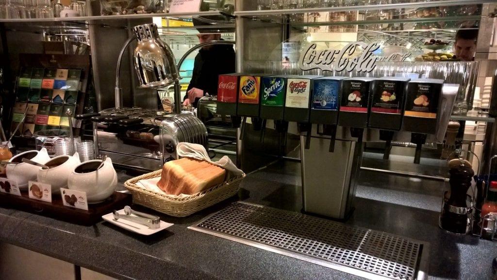 Lufthansa Senator Lounge Berlin Buffet 4