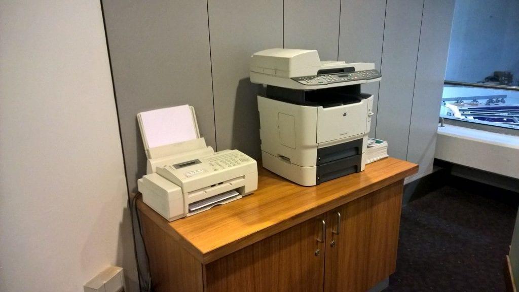 Lufthansa Senator Lounge Berlin Printer