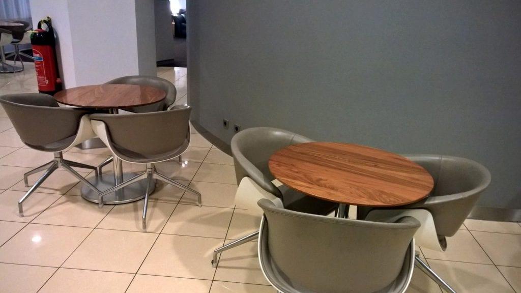 Lufthansa Senator Lounge Berlin Sitzbereich 2