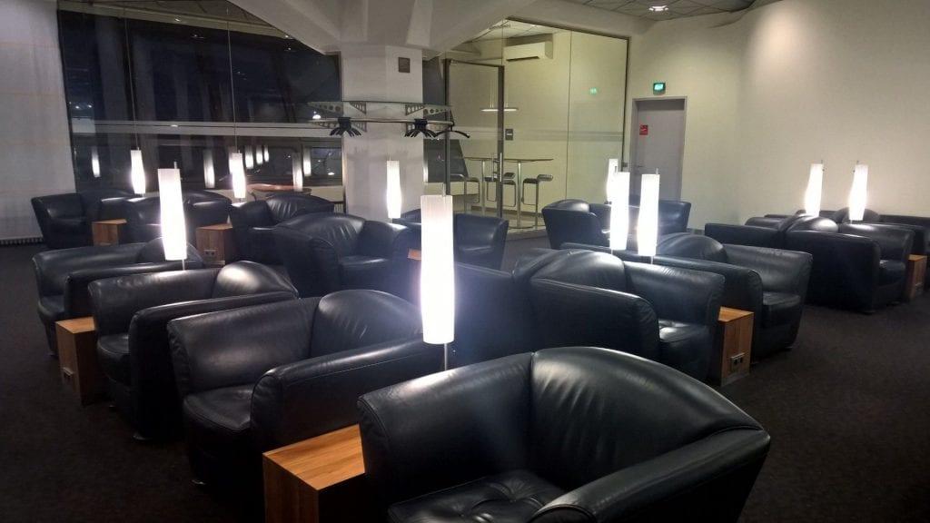 Lufthansa Senator Lounge Berlin Sitzbereich 3
