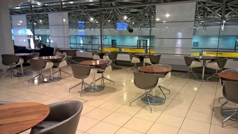 Lufthansa Senator Lounge Berlin Sitzbereich
