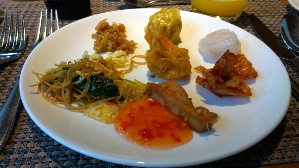 Mandarin Oriental Jakarta Frühstück