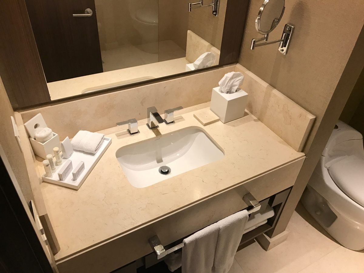 Marriott Bogota Airport Superior Zimmer Bad