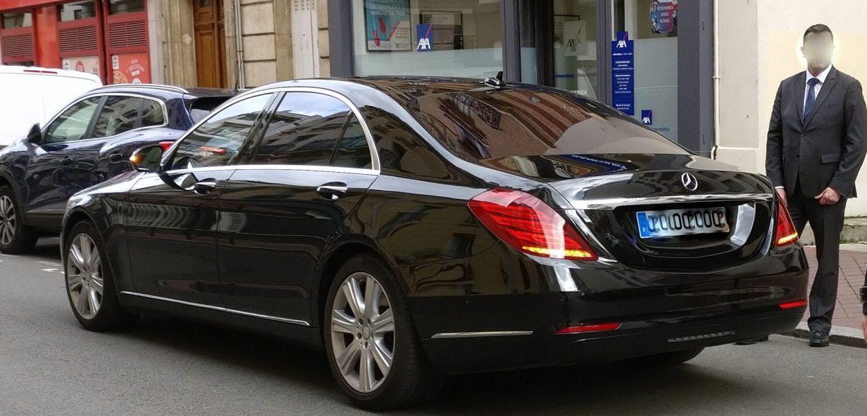 Mercedes S Klasse Chauffeur