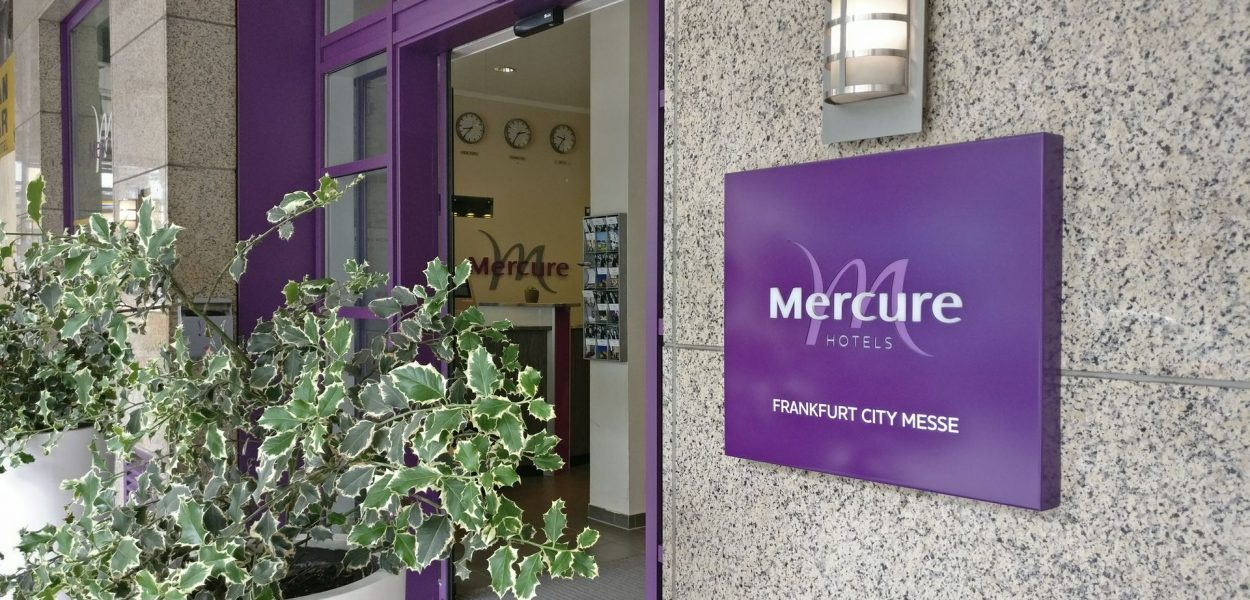 Mercure Frankfurt City Messe Eingang