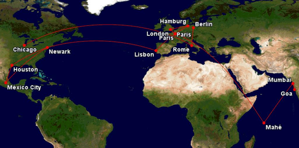 Moritz Reiseverrückt Flüge in einem Monat
