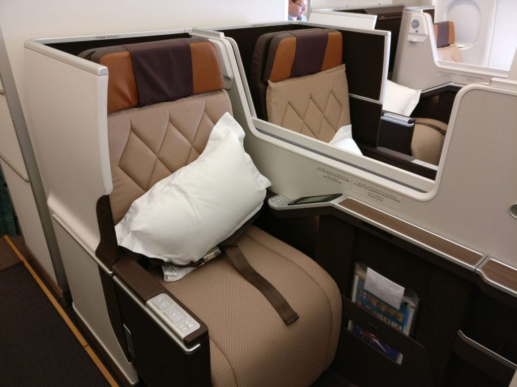 Oman Air Business Class Airbus A330