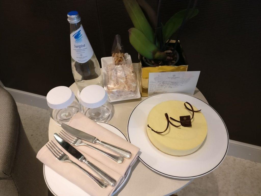 Palazzo Parigi Milan Birthday Cake
