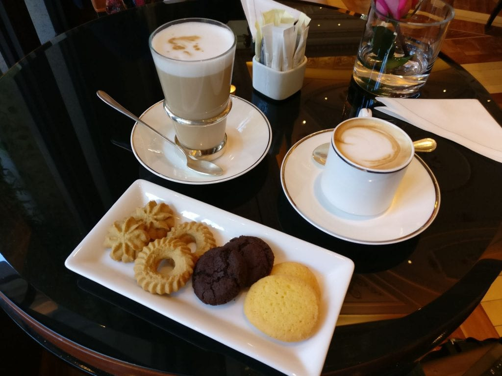 Palazzo Parigi Milan Welcome Coffee