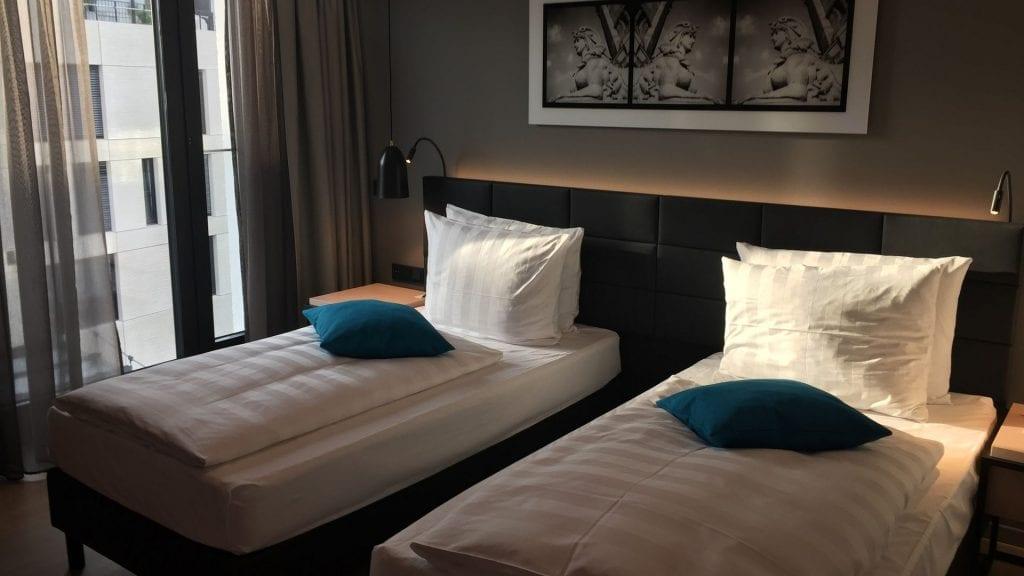 Radisson Blu Mannheim Twin Betten