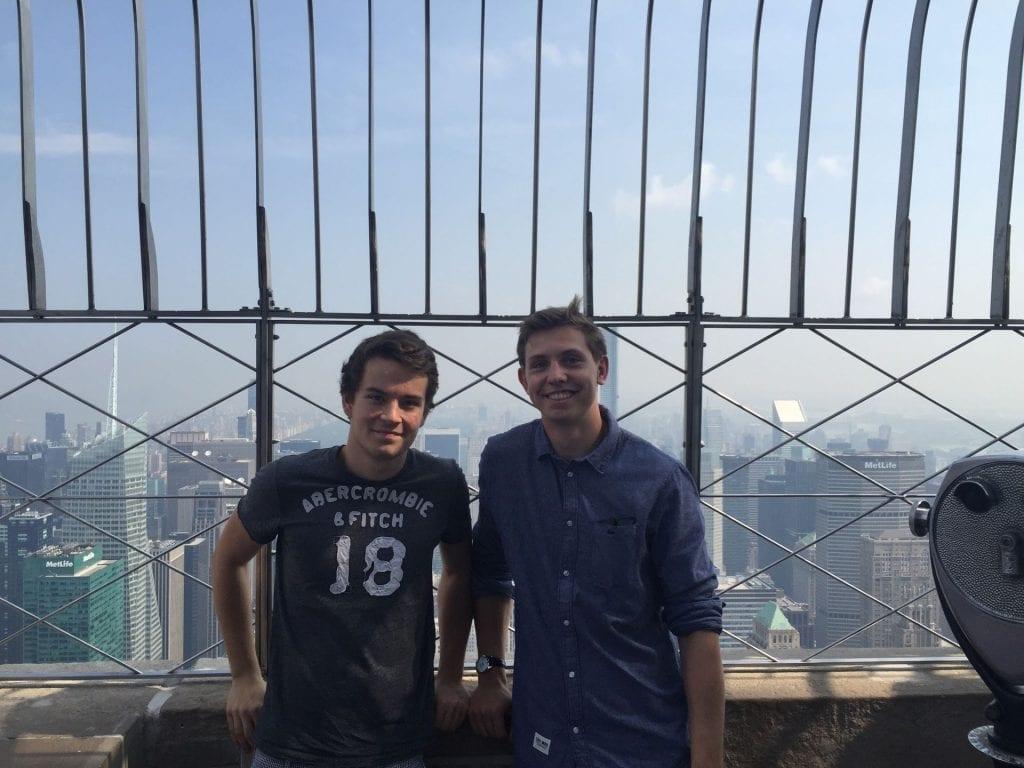 Reiseverrückt Moritz Stoldt Jan New York