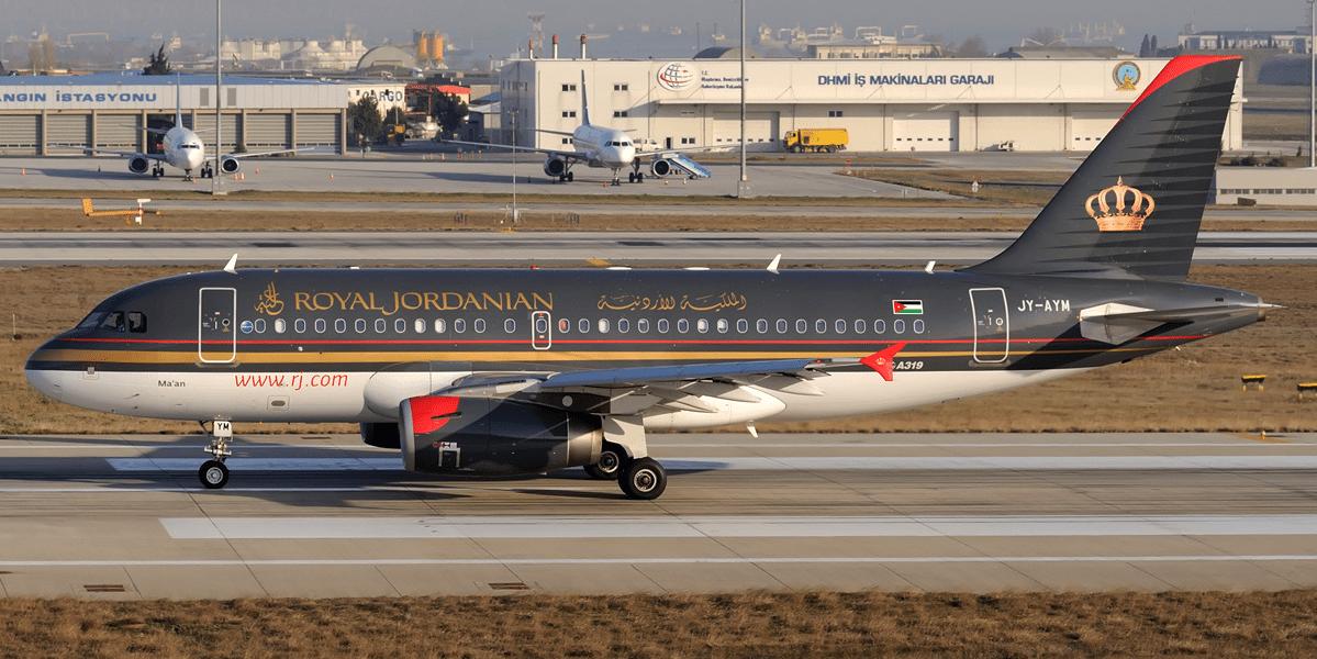 Royal Jordanian A319