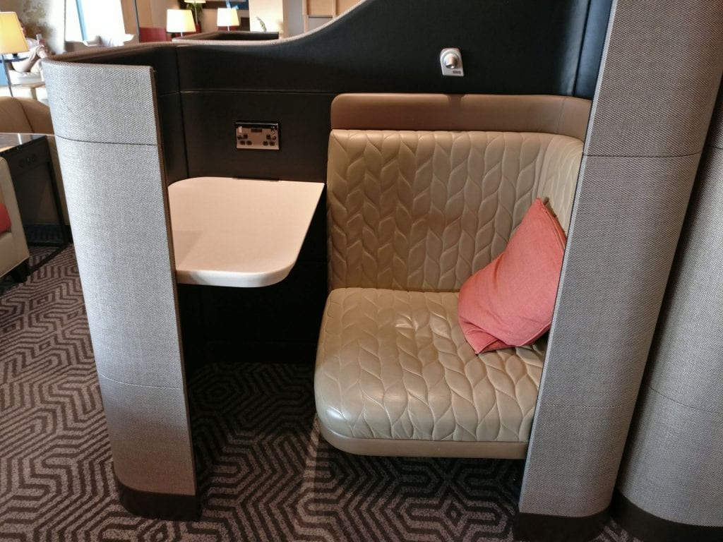 Singapore Airlines Lounge London Heathrow Seating 5