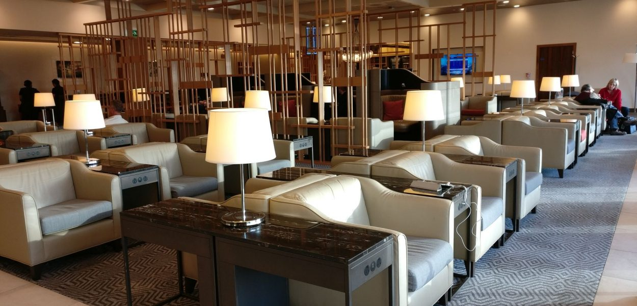 Singapore Airlines Lounge London Heathrow Seating 8