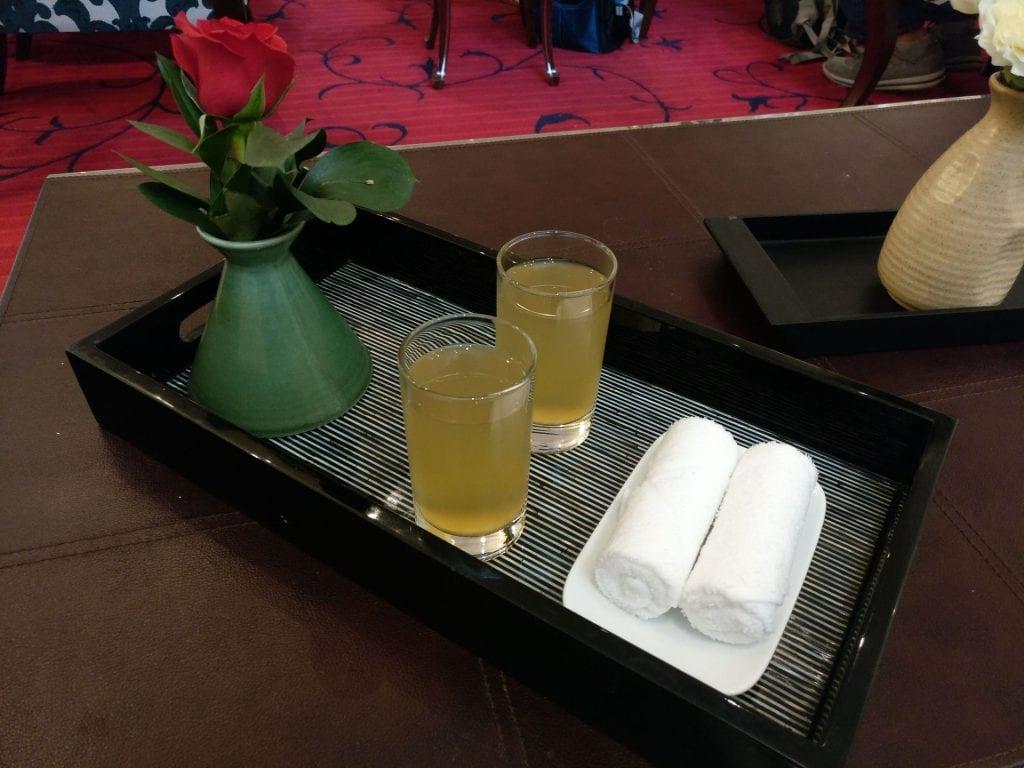 Sofitel Legend Metropole Welcome Drink