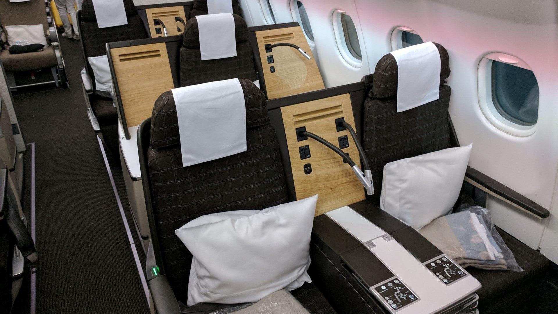 Swiss Business Class Airbus A330 Sitz