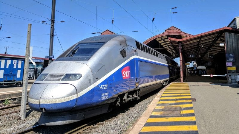 TGV Duplex Straßburg