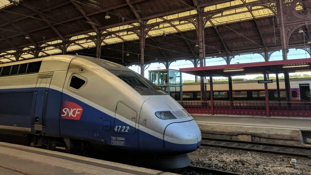 TGV Duplex Straßburg Bahnhof