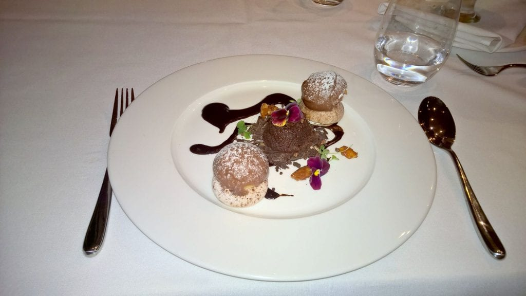 The Lowry Hotel Manchester Dinner 3