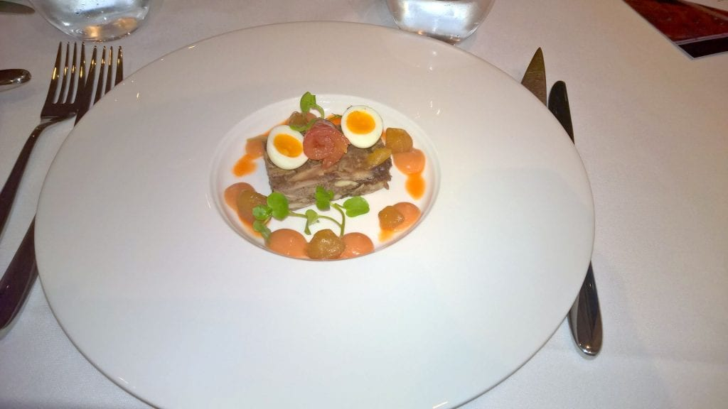 The Lowry Hotel Manchester Dinner 5